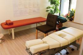 矜持整骨院の治療室