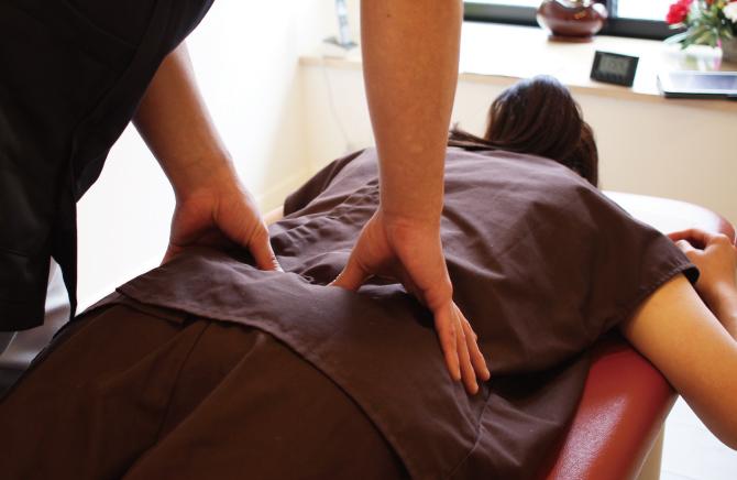 腰痛 – 整体・治療