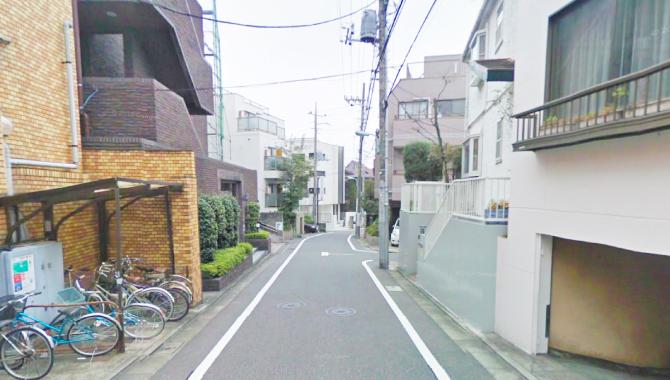祐天寺駅から矜持整骨院までのルート1-4