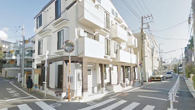 祐天寺駅から矜持整骨院までのルート1-6