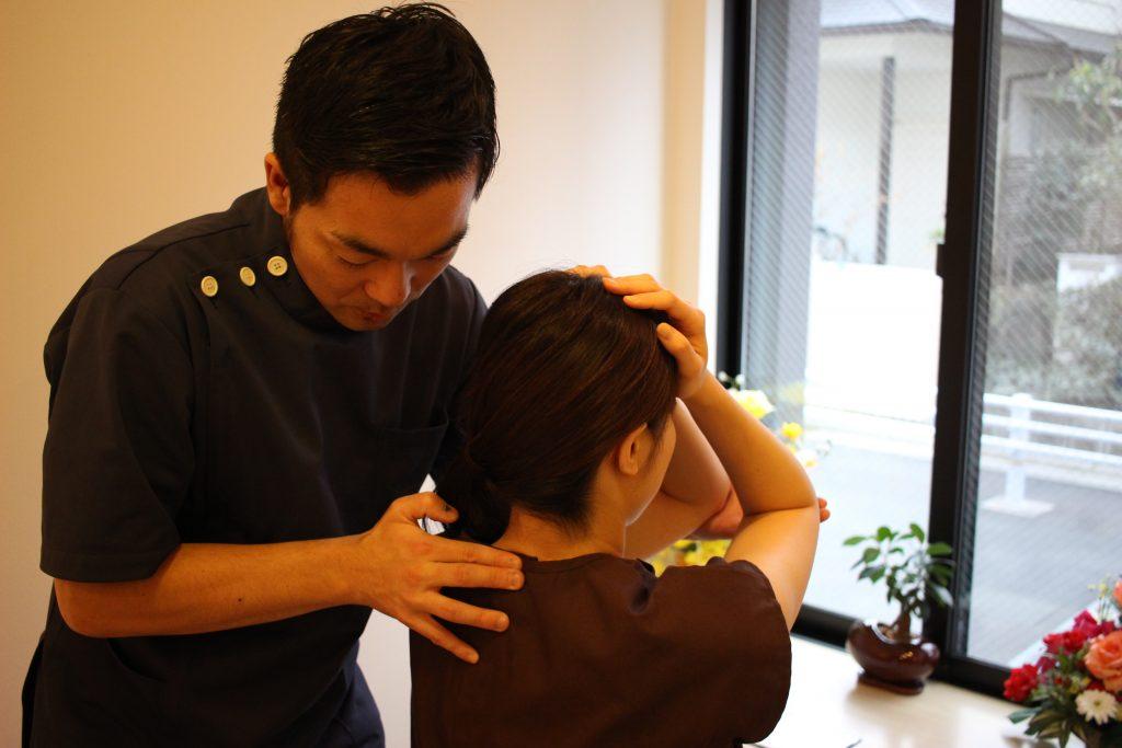 胸椎の触診